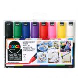 Posca PC-8K 8mm Bold Tip Markers 8 Piece Set